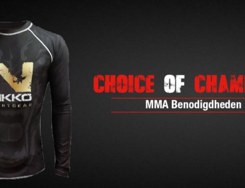 MMA-benodigdheden; wat heb je nodig voor MMA?