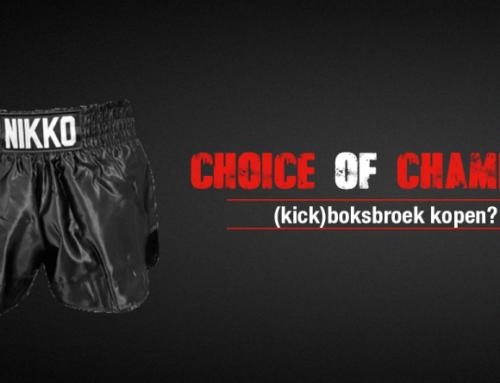 Een (kick)boksbroek kopen; waar moet je op letten?