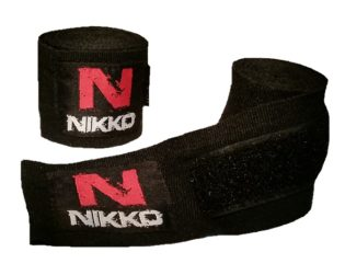 Nikko Bandages Zwart Junior