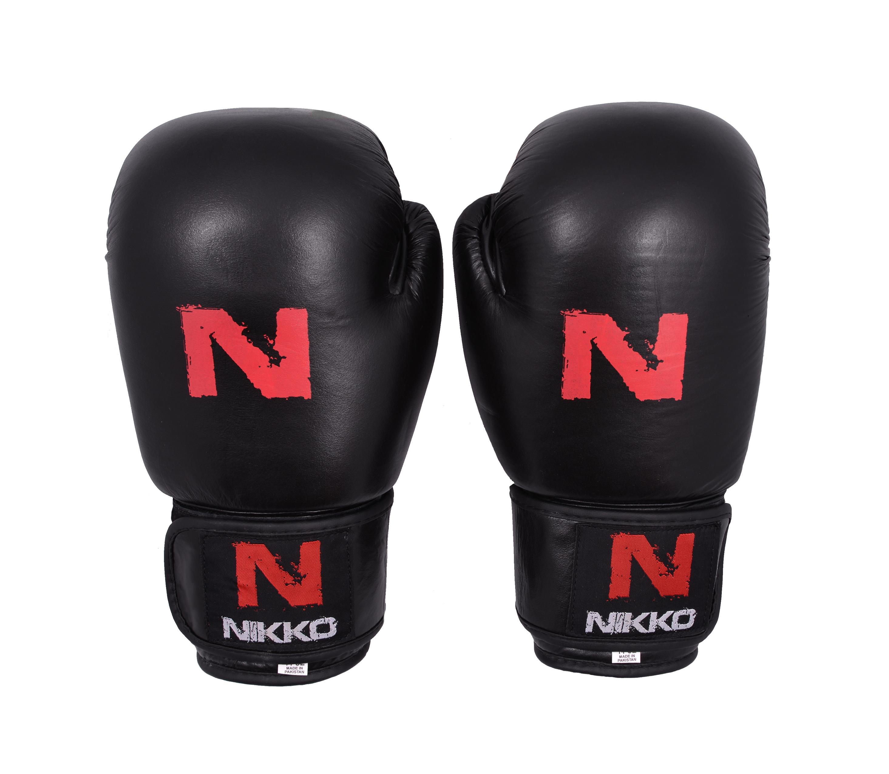 Nikko Bokshandschoenen Basic Kids Zwart