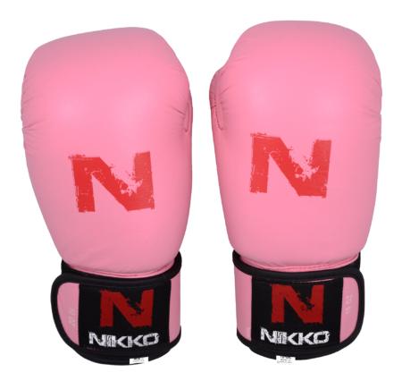 Nikko Bokshandschoenen Basic Roze