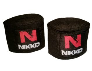 Nikko Bandages Zwart XL