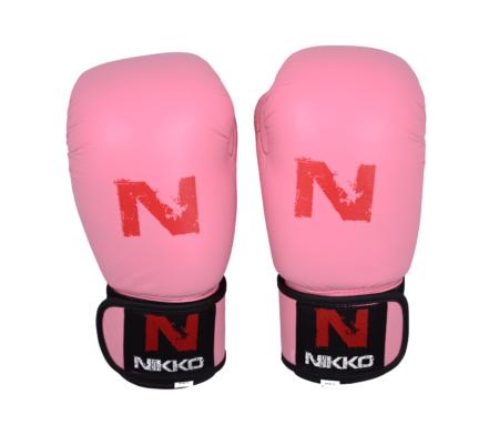Nikko Bokshandschoenen Basic Kids Roze