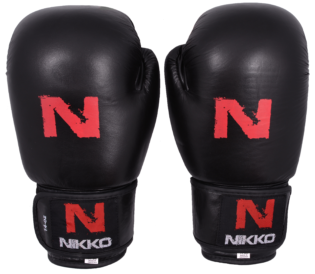 Nikko Bokshandschoenen Basic Zwart