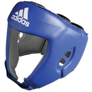Adidas Hoofdbeschermer AIBA Blauw