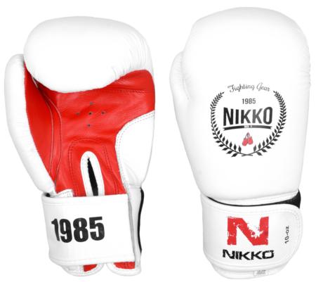 Nikko Bokshandschoenen White Edition