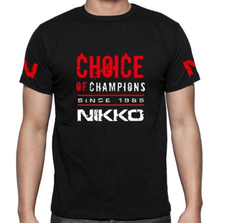 Nikko T-Shirt Choice of Champions