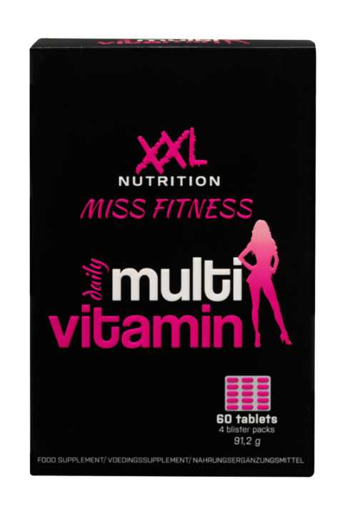 XXL Miss Fitness Multivit