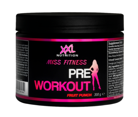 XXL Miss Fitness Pre Workout