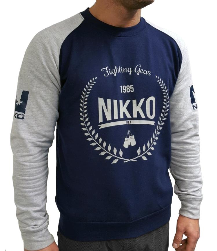 Nikko Sweater Blauw-Grijs