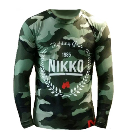 Nikko Rashguard Camouflage
