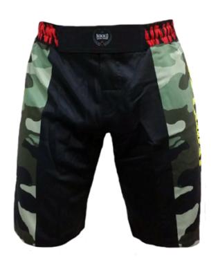 Nikko MMA short Camou Groen