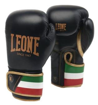 Leone Bokshandschoenen Italy Zwart