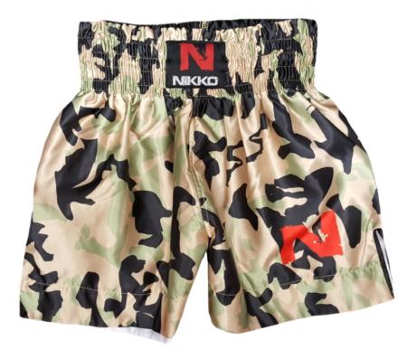 Nikko Kickboksbroek Camouflage