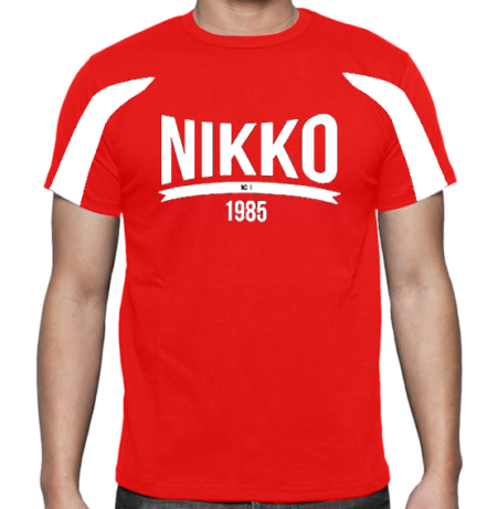 Nikko Dry Fit Shirt Two-Toned Rood