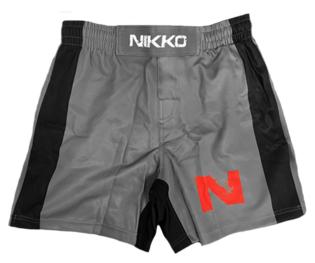 Nikko MMA Broek Grijs